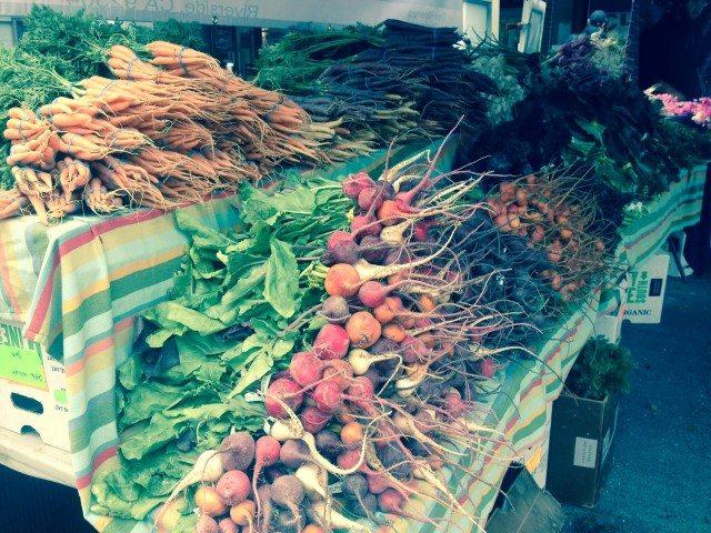 San Francisco Farmer's Market colors