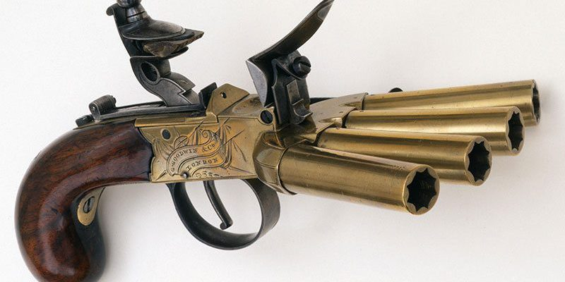 A Treasure from Our West: Duck's foot pistol. 1988.8.980