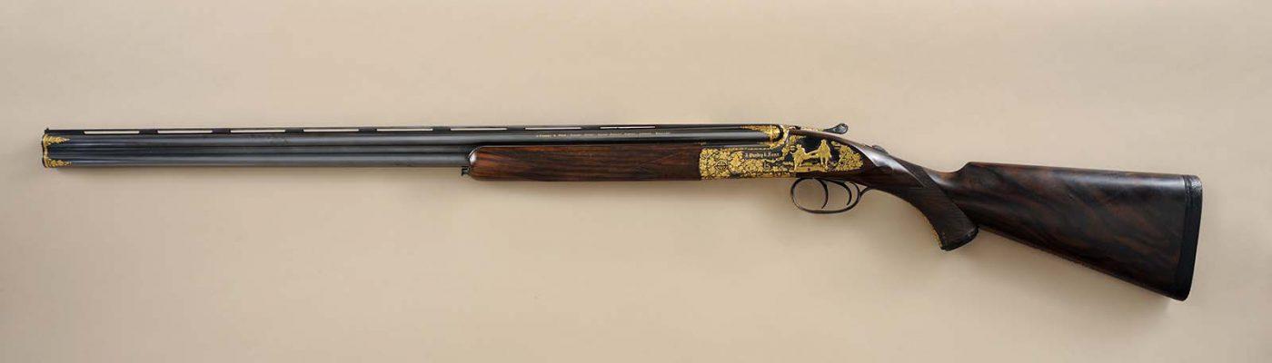 Purdey Over-Under 28 gauge shotgun. Gift of Mr. and Mrs. Larry Sheerin, San Antonio, Texas. 2011.12.1