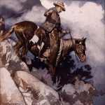 "Points West blog 039: Frank Tenney Johnson's ""Teddy Roosevelt-Cattle Rancher. 72.72.80"