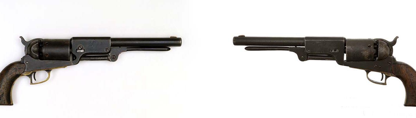 Colt revolver, 1847. Gift of the Gordon T. Matson Family. 1996.12.1