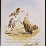 Lucretia Borgia hunts with Buffalo Bill