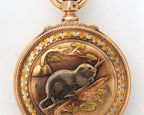 "A Treasure from Our West: ""White Beaver"" pocket watch. 1.69.2658"