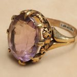 Treasures from Our West: amethyst ring