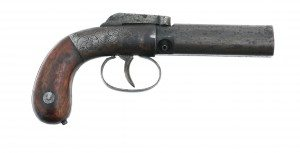 Manhattan Pepperbox Pistol, .28 caliber, 1988.8.2110v1 - Gift of Olin Corporation, Winchester Arms Collection