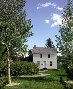Buffalo Bill's Boyhood Home in the Greever Garden