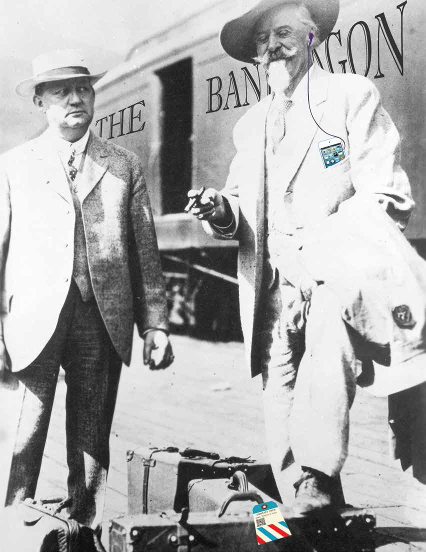 Colonel Cody with Harry Heye Tammen, 1913. MS71 Vincent Mercaldo Collection. P.71.1146 (altered)