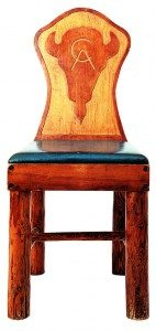 Points West blog 049: Keyhole chair