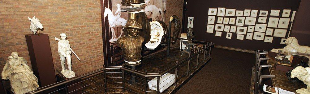 Proctor Studio exhibit in the Whitney Western Art Museum