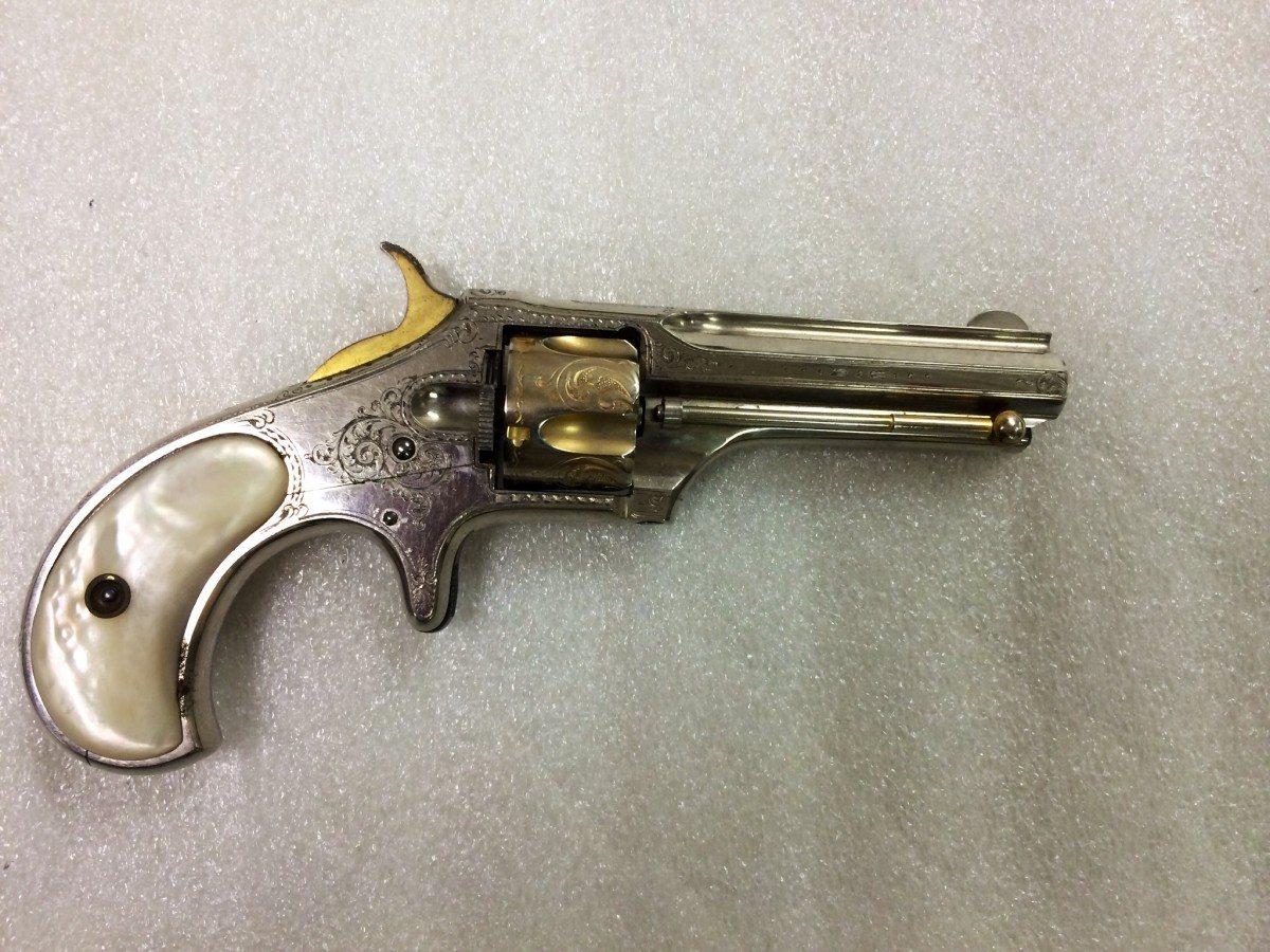 Remington-Smoot New Model No. 1 Pocket Revolver, .30 rimfire short, 5-shot