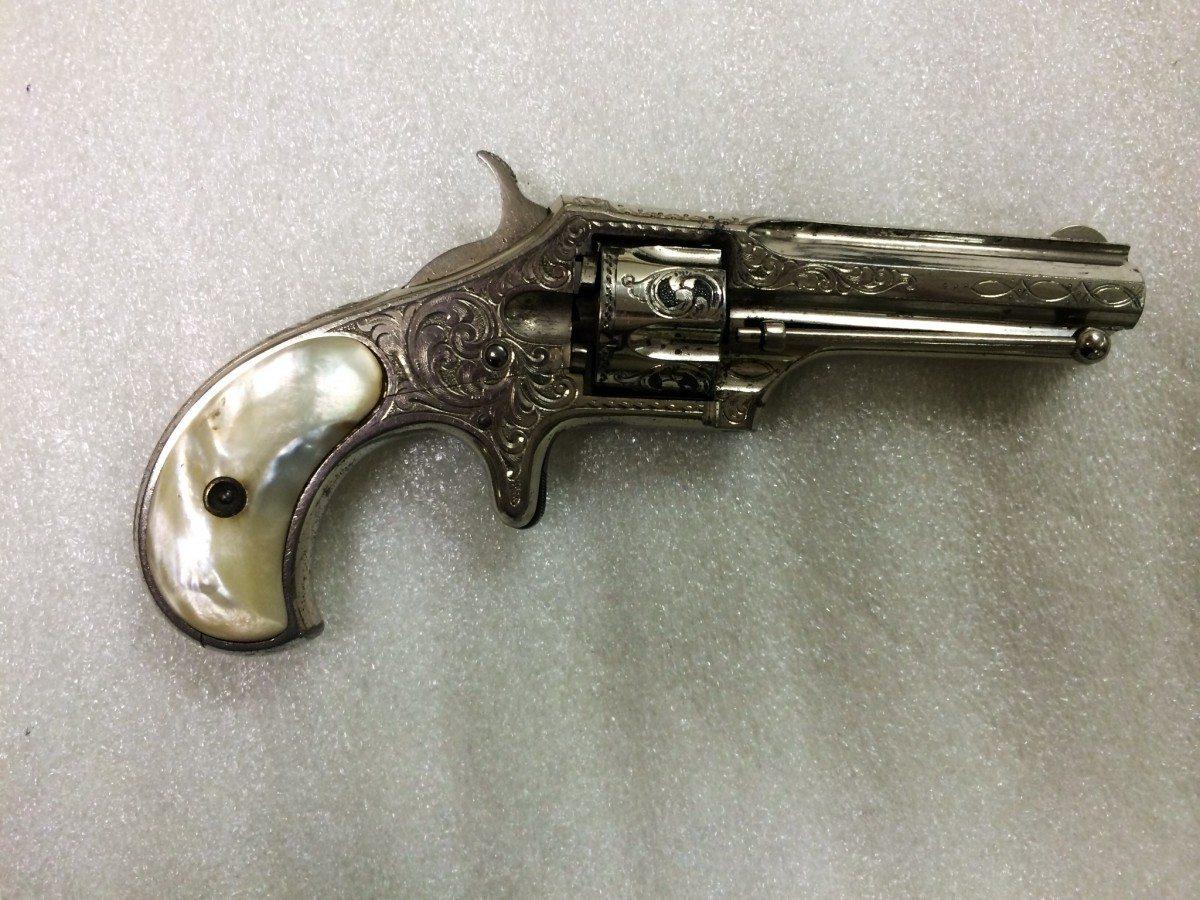 Remington-Smoot New Model No. 2 Pocket Revolver, .20 rimfire short, 5-shot