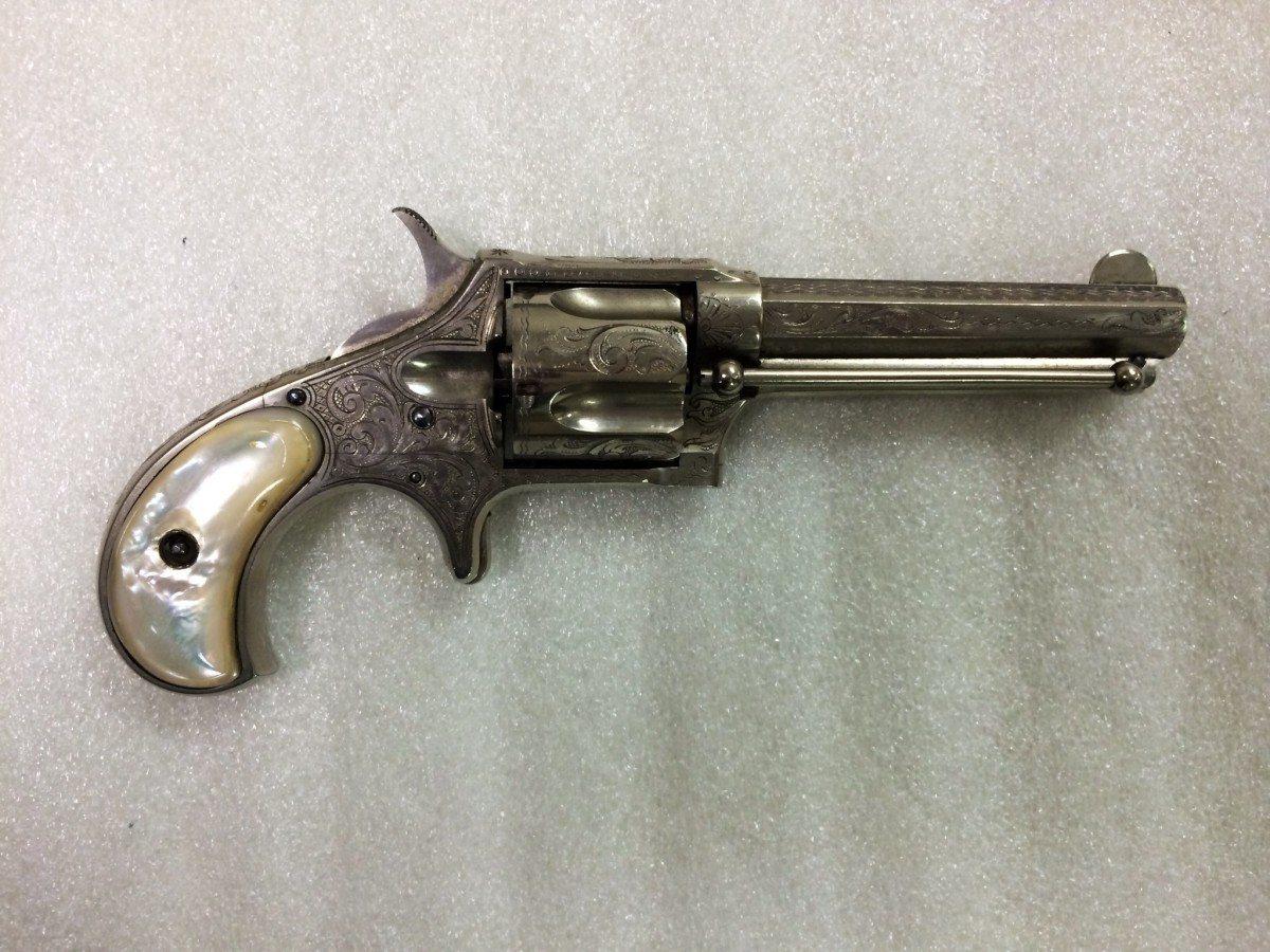 Remington-Smoot New Model No. 3 Pocket Revolver, .38 rimfire short, 5 shot