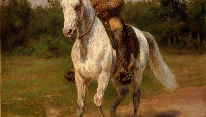 "A Treasure from Our West: Rosa Bonheur's ""Col. William F. Cody,"" 1889. 8.66"