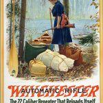 A Treasure from Our West: 1887 Winchester calendar cover.