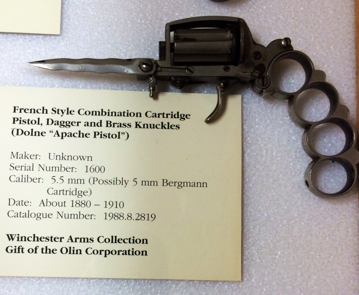 Apache Pistol, 5mm. Gift of Olin Corporation, Winchester Arms Collection. 1988.8.2819