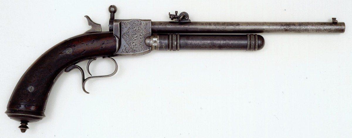 compressed air bb machine gun