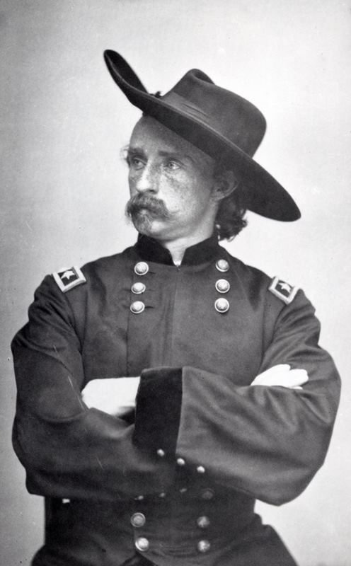 George Armstrong Custer, Major General of Volunteers, January 4, 1865. MS71 Vincent Mercaldo Collection. P.71.252