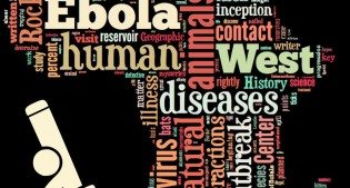Ebola/Africa word cloud