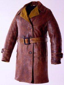 Amelia Earhart aviator coat