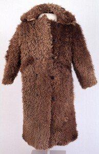 Amelia Earhart buffalo coat