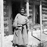 "Mrs. Julia Ethel Tuell (1886-1960) lived on the Northern Cheyenne Indian Reservation, Montana from 1906 to 1912; Stroud, Oklahoma with the Sac and Fox Indians in 1913; and on the Sioux Indian Rosebud Reservation in South Dakota from 1913-1929. A photographer, her images were used by George Bird Grinnell to illustrate his books ""The Cheyenne Indians"" v. I & II, New Haven: Yale University Press, 1923. Included in this collection are three photo albums dated from 1908-1918. The first two albums described are of Northern Cheyenne reservation life, and third begins on the Northern Cheyenne but ends on the Rosebud. Descriptive text for most of the photographs are under the photo in white pen or written on the back of the photo. Some photos in this collection can also be found in her biography ""Women and Warriors of the Plains: The Pioneer Photography of Julia E. Tuell"" by Dan Aadland, MacMillan, NY: 1996. The final photographs in album, (after c. #106?) are dated to when Mrs. Tuell would have been living on the Rosebud Reservation."