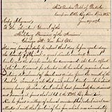 This collection contains various documents concerning the Battle of the Little Big Horn. Most prominent are two original reports of General Alfred H. Terry to General George Crook, the first official reports of the defeat of Custer at the Little Big Horn battlefield. Other documents in the collection include reminiscences of Wilmot Sanford on the battle, a letter from General E.S. Godfrey to E.S. Paxson about the battle, as well as a letter from William F. Cody to Elizabeth Custer regarding a statue of her husband.