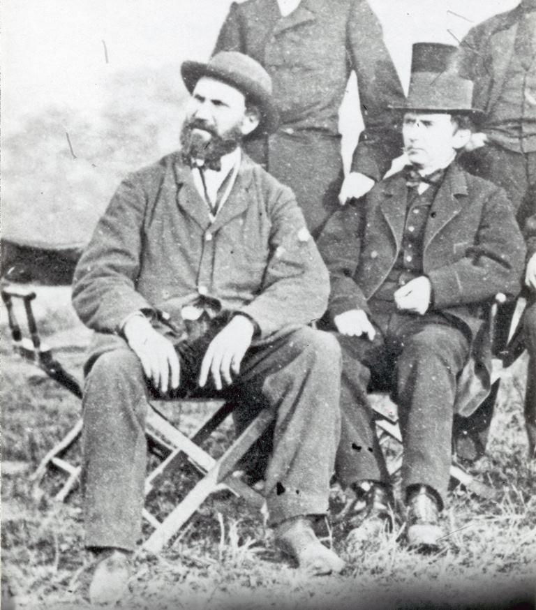 Detective Allan Pinkerton, ca. 1862. MS 71 Vincent Mercaldo Collection, McCracken Research Library. P.71.855