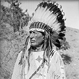 MS 165 Thomas Marquis Native American Nitrate Negatives