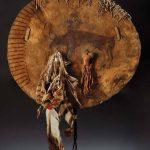 Shield. Humped Wolf, Apsáalooke (Crow), Northern Plains, ca. 1870. NA.108.136.