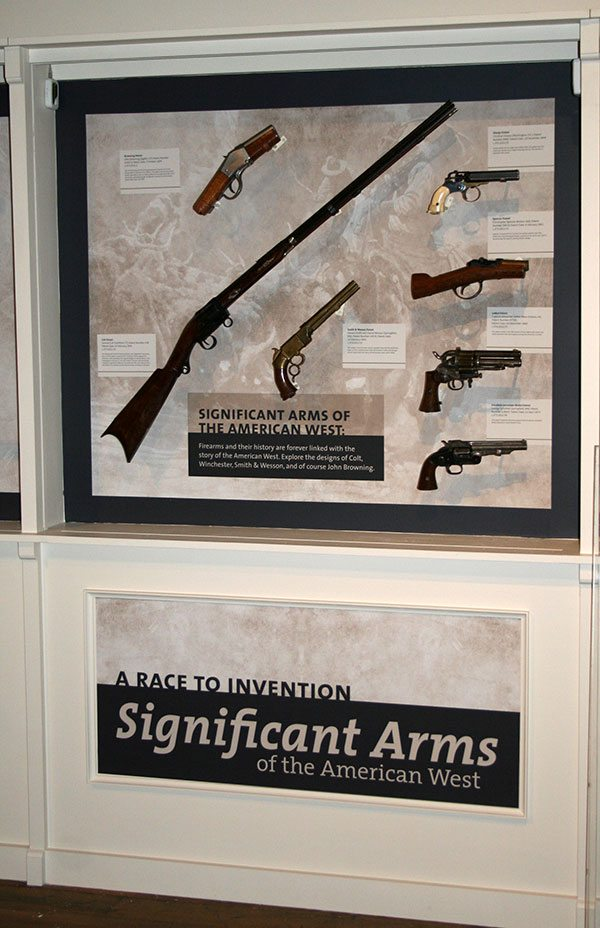 """Journeying West: Significant Firearms from the Smithsonian"" is revamped and on display on the Cody Firearms Museum's main level."