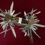 Smithsonian firearms exhibition: multi-blade folding knife