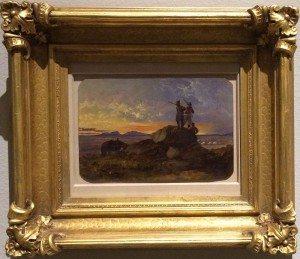 "John Mix Stanley (1814 – 1872). ""Untitled, Teton Valley Scene,"" 1855. 1.14"