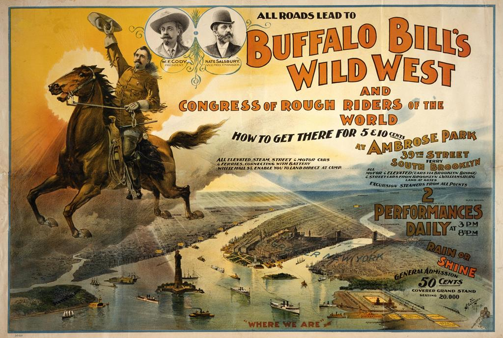 Wild West marketing with posters