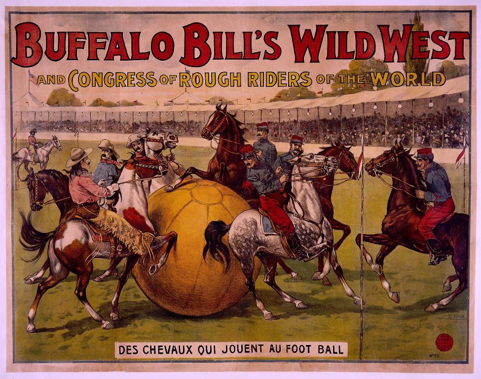 Wild West marketing with football