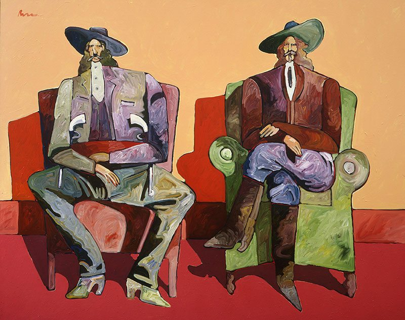 "Thom Ross's ""Hickok and Cody."" 12.98.2"