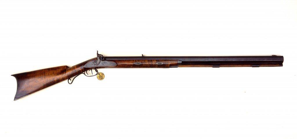 John Johnston's Hawken rifle. 2000.14.1
