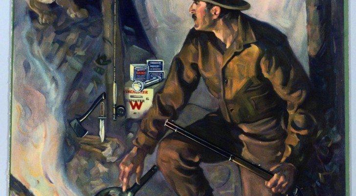 Winchester ad, 1930