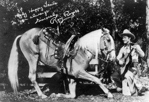 Roy Rogers and his horse, Trigger
