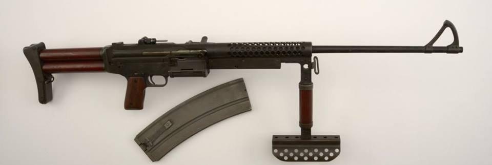 Johnson Model 1944 Light Machine Gun. 1988.8.3328