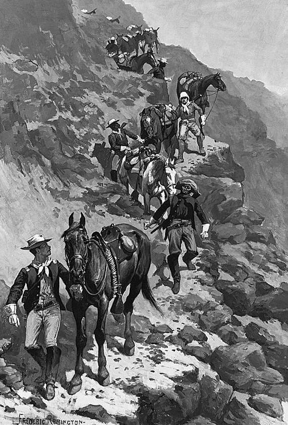 Figure 4. Marching on the Mountains, c. 1889. Collection of David H. Koch. Cat. no. 00443