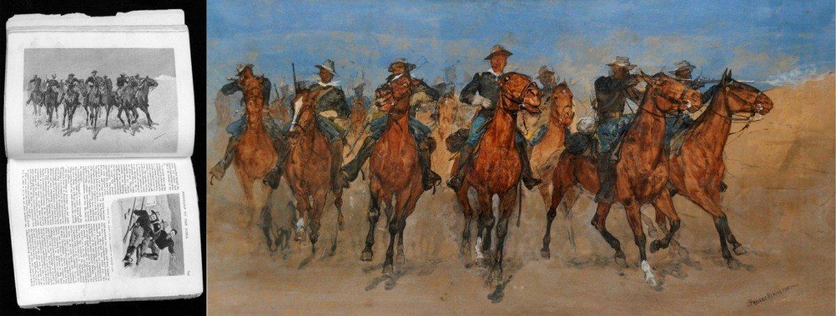 Figure 3. Captain Dodge's Troopers, c. 1891. Flint Institute of Art, Flint, Michigan. Cat. no. 01270.