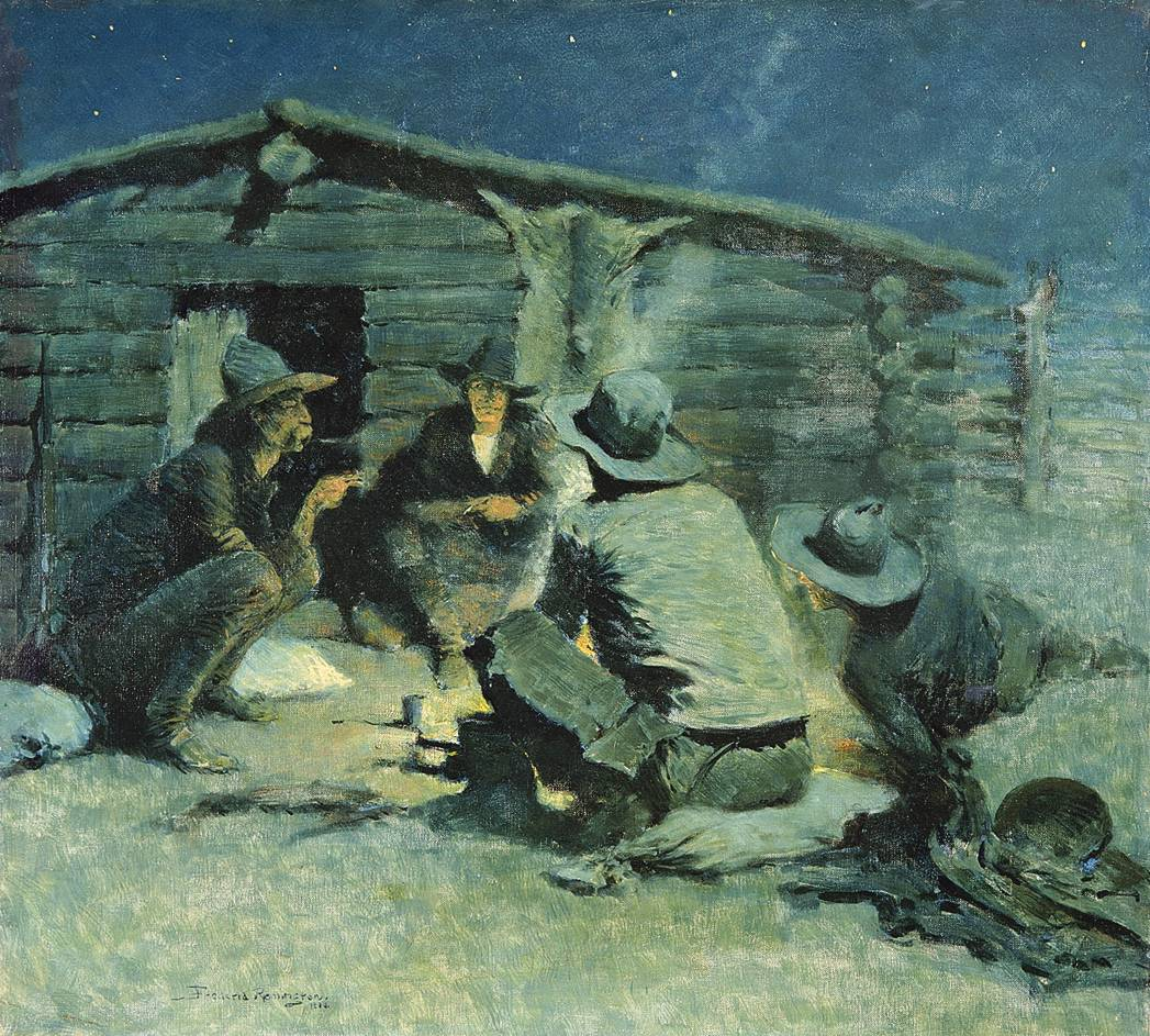 Figure 11. Untitled (The Cigarette), 1909. Frederic Remington Art Museum, Ogdensburg, New York. Cat. no. 02925