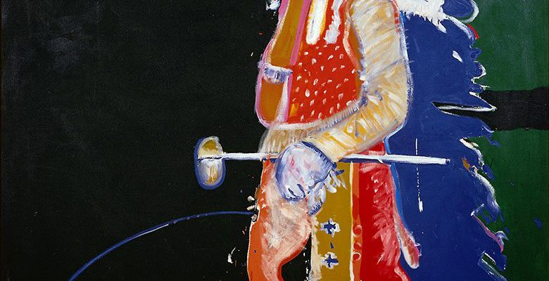 "A Treasure from Our West: ""Indian with Tomahawk"" by Fritz Scholder. 15.77"