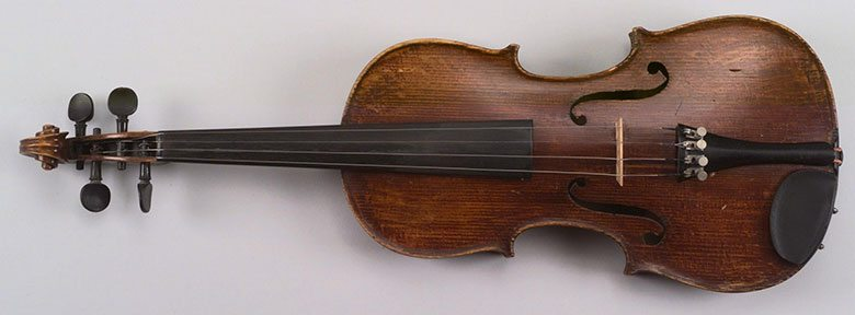 A Treasure from Our West: Art Hansen's violin.