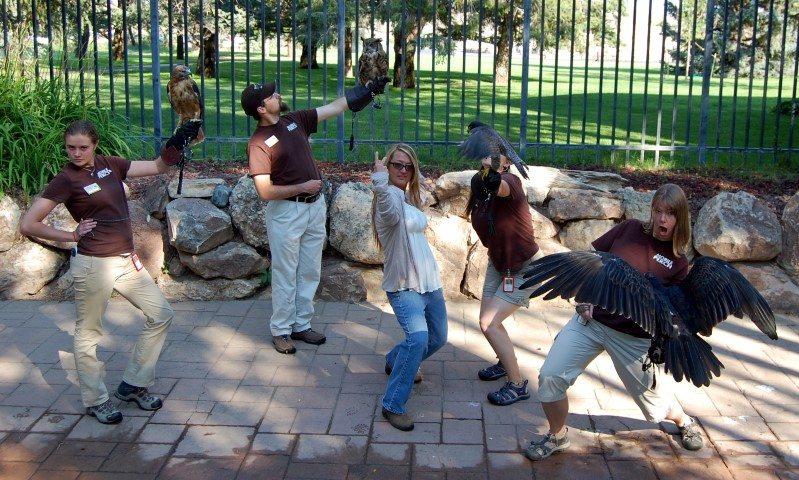 The 2012 Summer Crew having way too much fun.