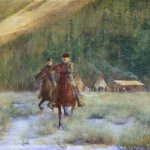 Leaving Camp by Irving R. Bacon