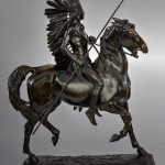 """A Treasure from Our West: """"Indian Warrior"""" by Alexander Phimister Proctor. 4.08.2"""