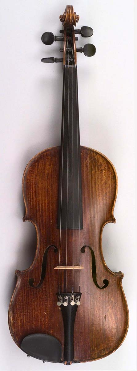 A Treasure from Our West: Art Hansen's violin. 1.69.4824.1
