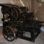 "A Treasure from Our West: Babcock printing press, Buffalo Bill's original press for the ""Cody Enterprise."" 1.69.1843"