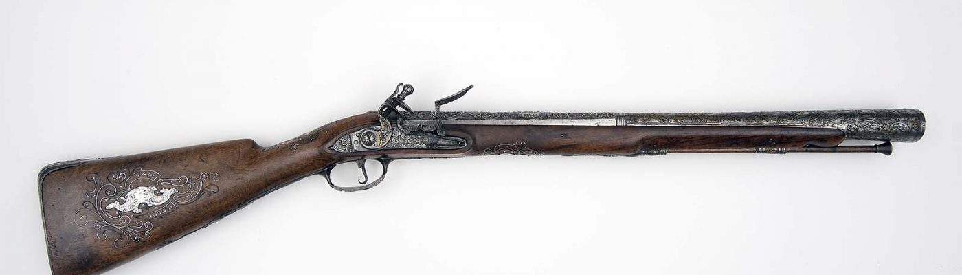 Russian Flintlock Blunderbuss. Museum Purchase, partially funded by the James H. Woods Foundation. 1986.16.1